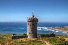 Het kasteel van Doonagore Stock Fotografie