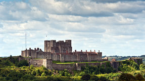 Het kasteel van Dover Stock Foto's