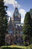 Het kasteel van Drachenfels royalty-vrije stock afbeeldingen