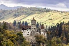 Het kasteel van Dracula Stock Foto's