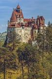 Het Kasteel van Dracula, Zemelen, Roemenië stock afbeeldingen