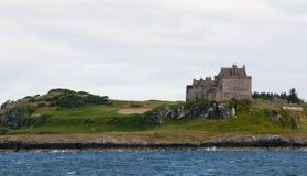 Het kasteel van Duart in Schotland stock foto