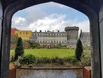 Het kasteel van Dublincastledublino Stock Foto