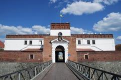 Het Kasteel van Dubno Stock Afbeeldingen