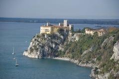 Het kasteel van Duino stock fotografie