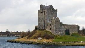 Het kasteel van Dunguaire Stock Afbeeldingen
