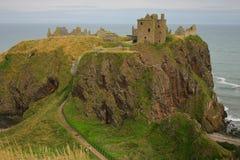 Het Kasteel van Dunnotar, Schotland Royalty-vrije Stock Afbeeldingen