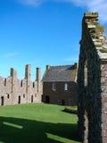 Het kasteel van Dunnottar, Schotland Stock Afbeelding