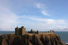 Het Kasteel van Dunnottar, Schotland Royalty-vrije Stock Afbeeldingen