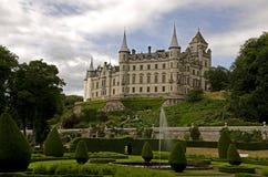 Het kasteel van Dunrobin Stock Afbeelding