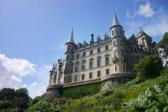 Het kasteel van Dunrobin in Schotland Royalty-vrije Stock Foto's