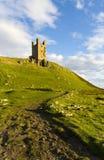 Het Kasteel van Dunstanburgh, Northumberland Stock Foto's