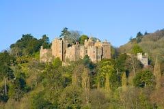 Het kasteel van Dunster stock afbeeldingen