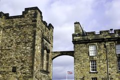 Het Kasteel van Edinburgh, Edinburgh royalty-vrije stock foto