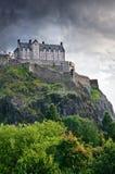 Het kasteel van Edinburgh Stock Foto