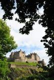 Het Kasteel van Edinburgh royalty-vrije stock foto