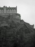 Het Kasteel van Edinburgh Stock Fotografie