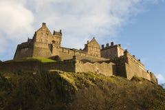 Het Kasteel van Edinburgh stock afbeeldingen