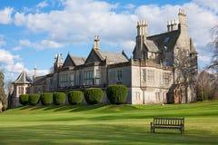 Het Kasteel van Edinburgh - Lauriston- royalty-vrije stock fotografie