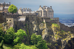 Het Kasteel van Edinburgh, Schotland royalty-vrije stock fotografie