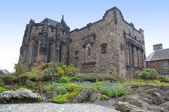 Het Kasteel van Edinburgh, Schotland, het UK Royalty-vrije Stock Foto's