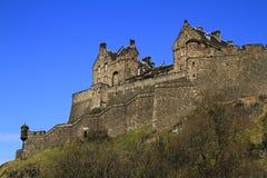 Het Kasteel van Edinburgh, Schotland, het Verenigd Koninkrijk Royalty-vrije Stock Foto