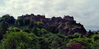 Het kasteel van Edinburgh, Kasteel van Schotse Koningen, het symbool van Schotland royalty-vrije stock foto's
