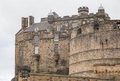 Het Kasteel van Edinburgh, het Verenigd Koninkrijk 2018 stock afbeeldingen