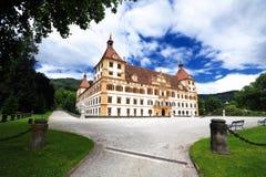 Het kasteel van Eggenberg in Graz Stock Afbeeldingen