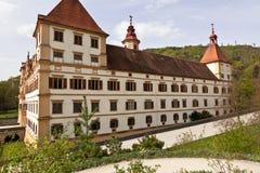 Het kasteel van Eggenberg in Graz, Oostenrijk Stock Foto's