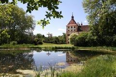 Het kasteel van Eggenberg in Graz, Oostenrijk royalty-vrije stock foto