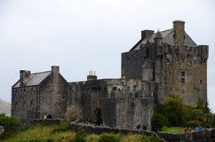 Het kasteel van Eileandonan, Dornie Royalty-vrije Stock Foto's