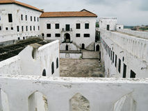 Het Kasteel van Elmina Royalty-vrije Stock Afbeelding