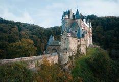 Het kasteel van Eltz Royalty-vrije Stock Afbeelding