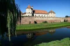 Het kasteel van Fagaras Stock Afbeeldingen