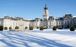 Het kasteel van Festetics in Keszthely, Hongarije Royalty-vrije Stock Foto