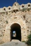 Het kasteel van Fortetza (poort) royalty-vrije stock afbeelding