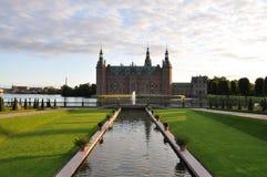 Het Kasteel van Frederiksborg Stock Fotografie
