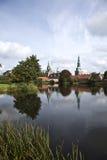 Het Kasteel van Frederiksborg Royalty-vrije Stock Afbeelding