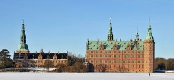 Het Kasteel van Frederiksborg, Denemarken Royalty-vrije Stock Foto's