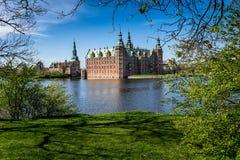 Het Kasteel van Frederiksborg, Denemarken Royalty-vrije Stock Foto