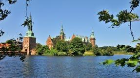 Het Kasteel van Frederiksborg, Denemarken Stock Foto