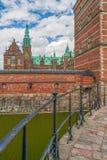 Het Kasteel van Frederiksborg, Denemarken Hillerod Het Eiland van Zeeland denemarken stock foto's