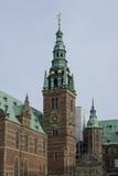 Het kasteel van Frederiksborg in Hillerod, Denemarken Royalty-vrije Stock Foto's