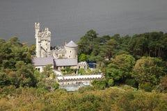 Het kasteel van Glenveagh. stock afbeelding