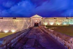 Het Kasteel van Gr Morro, San Juan, Puerto Rico Stock Foto's