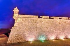 Het Kasteel van Gr Morro, San Juan, Puerto Rico Royalty-vrije Stock Foto's