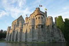 Het kasteel van Gravensteen Stock Foto