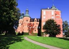 Het kasteel van Gripsholm. Stock Fotografie