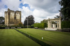 Het kasteel van Guildford Stock Afbeelding